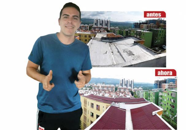 Testimonio Nicolás Montañez Sobre techo Techolne